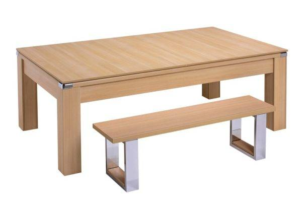 28851-1-Warwick Oak with Dining Top and Bench