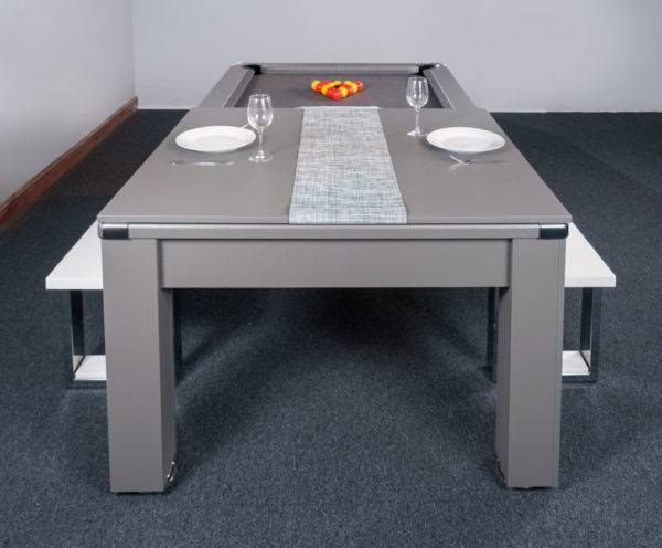 30426-1-Signature Warwick Pool Dining Table – End – with Half Top and Bench