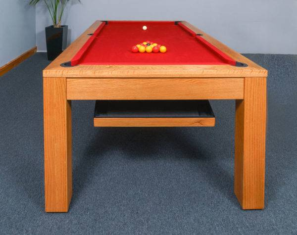 28520-1-Signature Chester Pool Table – End View with Ball Return