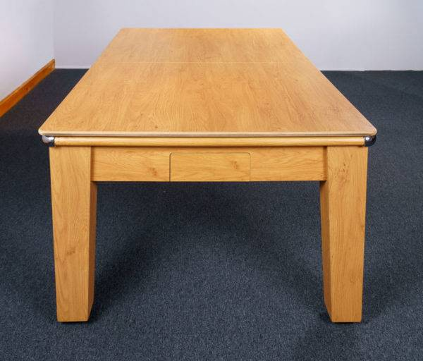 30387-1-Signature Imperial Pool Dining Table – End – with Top
