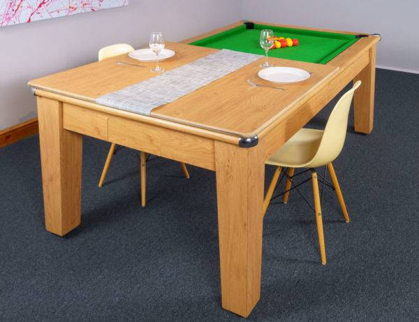 30394-1-Signature Imperial Pool Dining Table – with Half Top