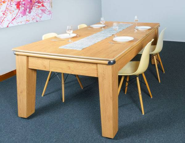 30395-1-Signature Imperial Pool Dining Table – with Top and Chairs