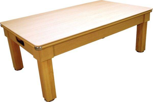 6920-1-DINER LIGHT OAK FULL TOP GREEN